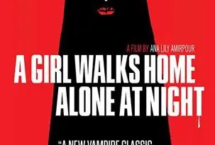 A Girl Walks Home Alone Poster-303x450