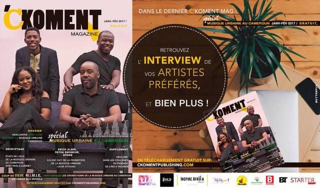 C koment magazine edition musique urbaine