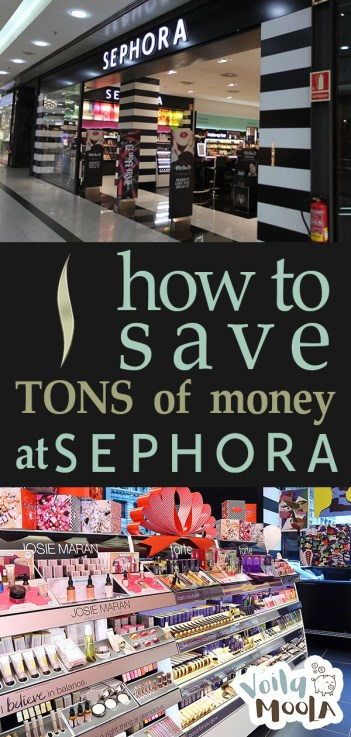 How to Save TONS of Money at Sephora | Sephora Hacks, Save Money Tips, Sephora Must Haves, Save Money, Save Money Ideas, Save Money Challenge, Save More Money
