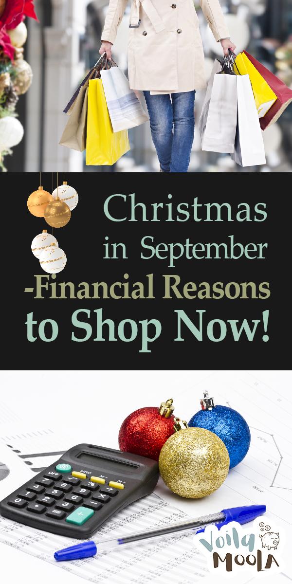 Christmas in September | Christmas Shopping in September | Christmas Budget | Christmas Shopping Tips and Tricks | Budget Christmas Shopping | Christmas