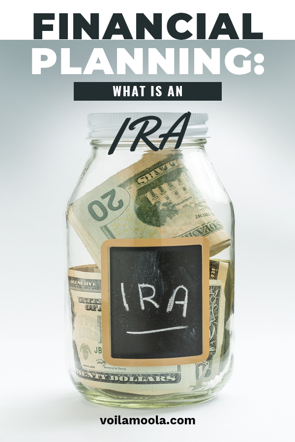 Financial planning is often left until it is a little late. Let Voila Moola help you understand all about an IRA and why it might be a good option for you. Start sooner rather than later when it comes to financial planning. You'll be so glad you did. Take a look at the IRA info by reading on.
