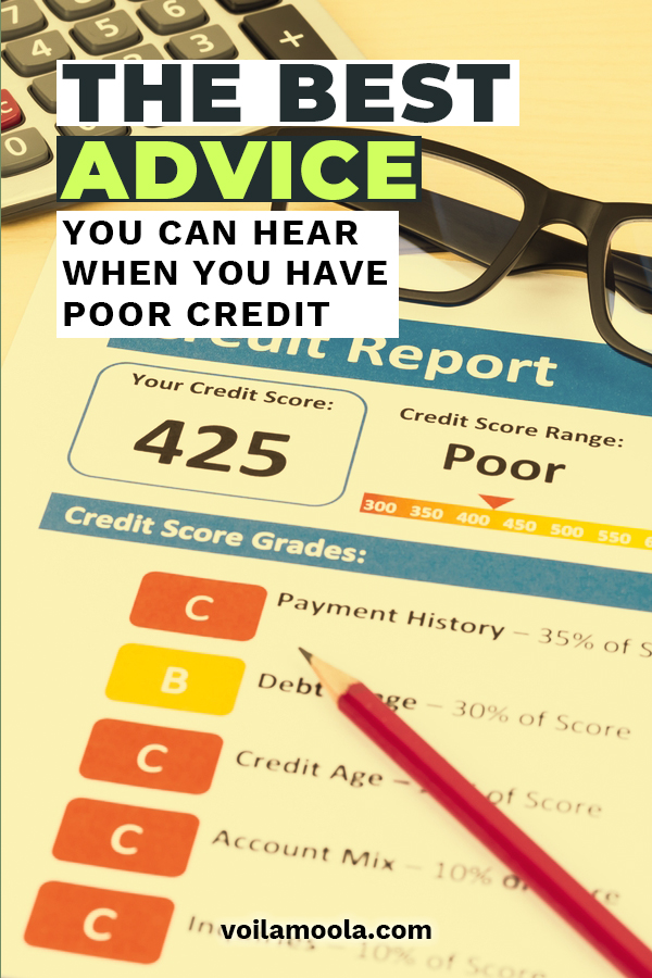 Poor Credit can be a challenge. But we have some awesome and helpful advice for you if your credit score is low. These tips and tricks will help you repair your credit, improve your credit score and find ways to get loans and credit cards. Listen up if you have credit trouble. We can help!