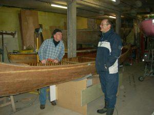 Troy, Alain et Jean-François à l'atelier