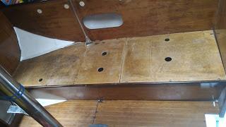 Restauration voilier First 32 Tomiak