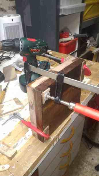 construction chaise moteur hors bord