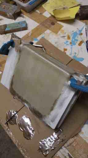 stratification résine polyester