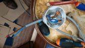 Rénovation de l'installation électrique du voilier