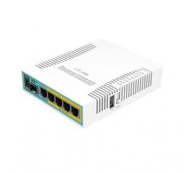 Mikrotik RouterBOARD PoE Gigabit Ethernet Router hEX