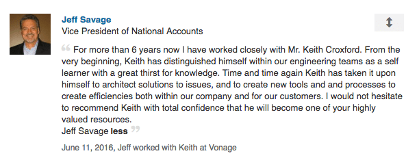 Keith Croxford is an expert in VOIP.