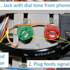 Telephone Wall Socket Wiring Diagram For Trailer Lights And Brakes Old Phone Jack Voip My House How To Quickly Distribute A Line Yourold