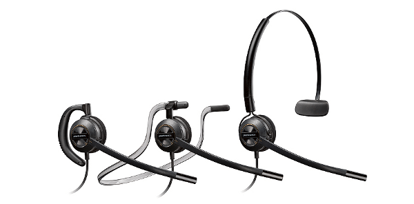 New Plantronics EncorePro HW500 Series Headsets for Noisy