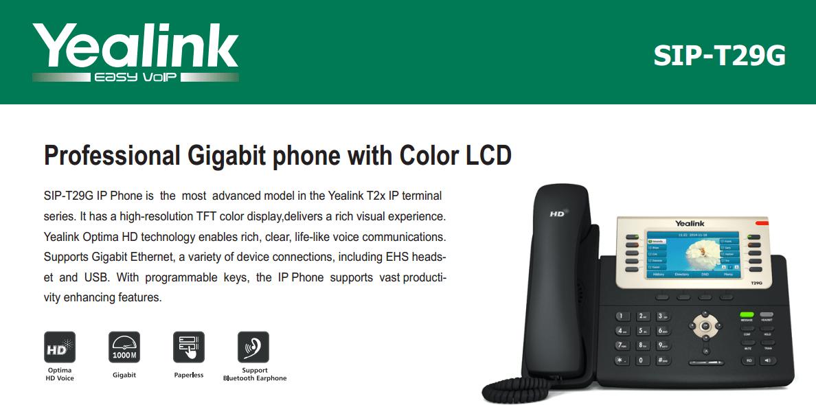 First Look Yealink SIPT29G Gigabit VoIP Phone  VoIP Insider
