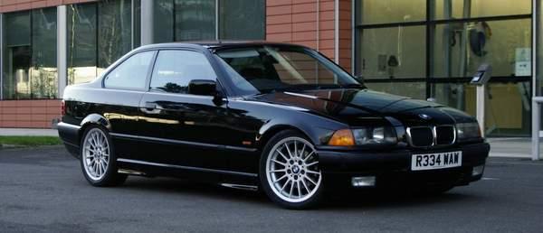 BMW série 3 E36 est une voiture puissante pas chère de nos jours