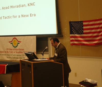Azad Moradian Speech: Kurdish National Congress of North America: Strategy and Tactic for a new era