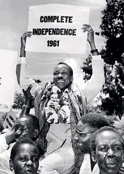 Julius Nyerere, the first Prime Minister of Tanganyika, May 27, 1961.