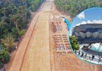 'কক্সবাজার-দোহাজারী-ঘুমধুম রেলপথ নির্মাণ প্রকল্পের' কাজ এগিয়ে চলছে