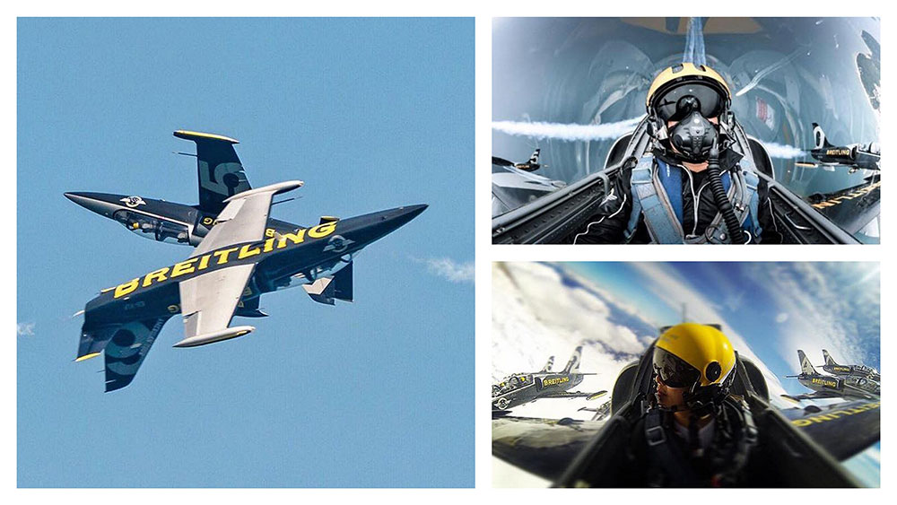 bapteme avion de chasse Breitling