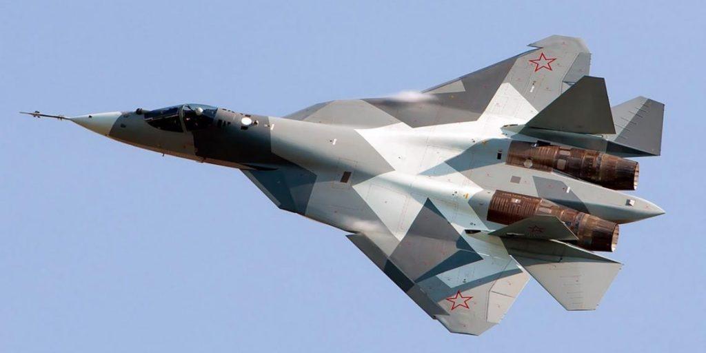 avion de chasse Su-57