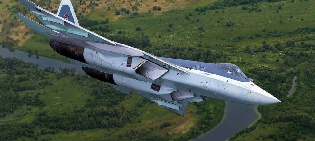 avion de chasse su57