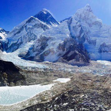 Mt. Everest & Lhotse, Himalayas, Nepal