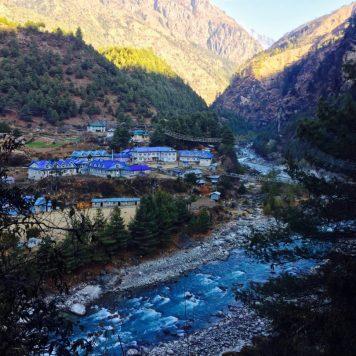 Phakding Valley, Nepal