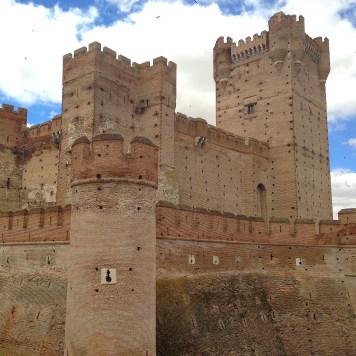 Castle of La Mota, Medina del Campo, Spain