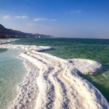 Dead Sea, Salt, Israel
