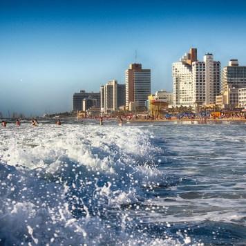 Tel Aviv, Beach, Israel