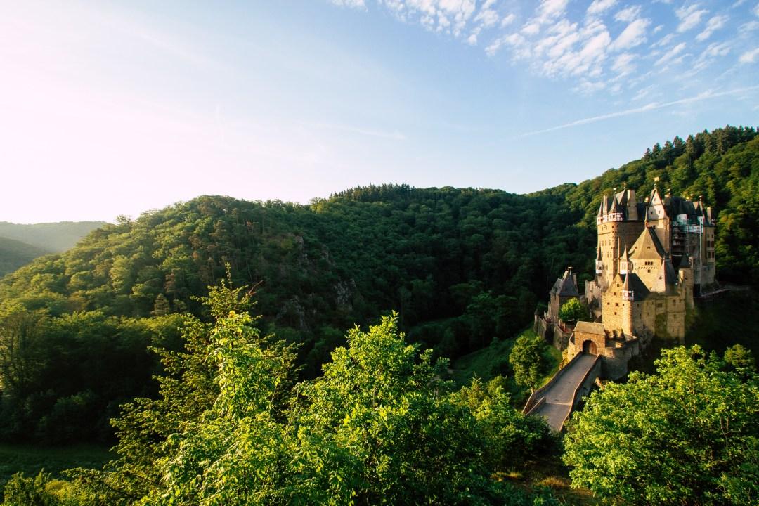 Eltz Castle, Evening Light, Germany