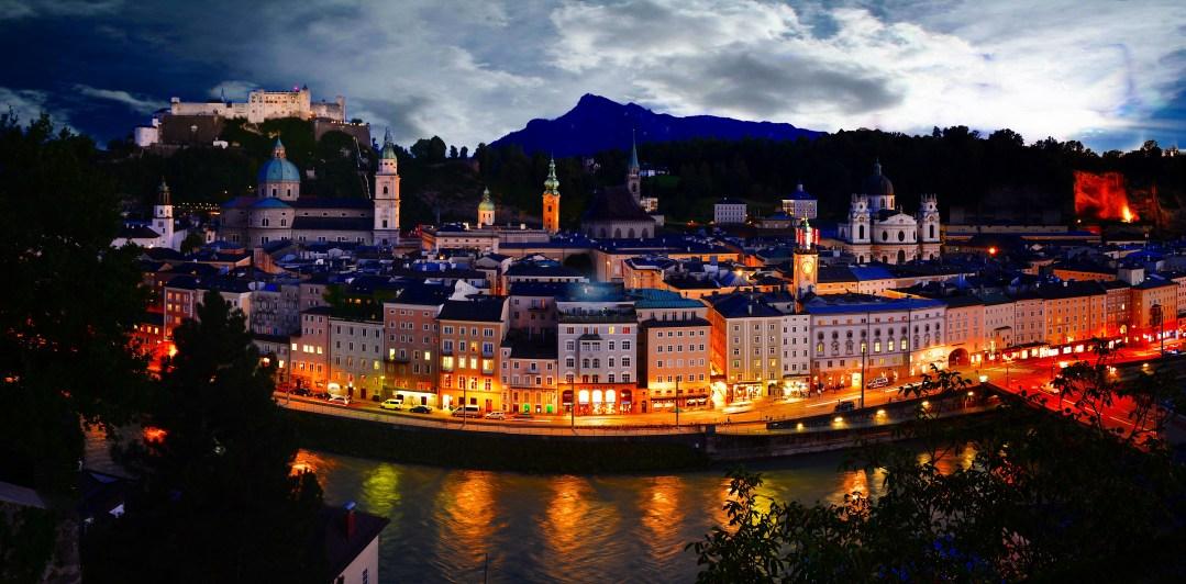 Salzburg Night, Austria