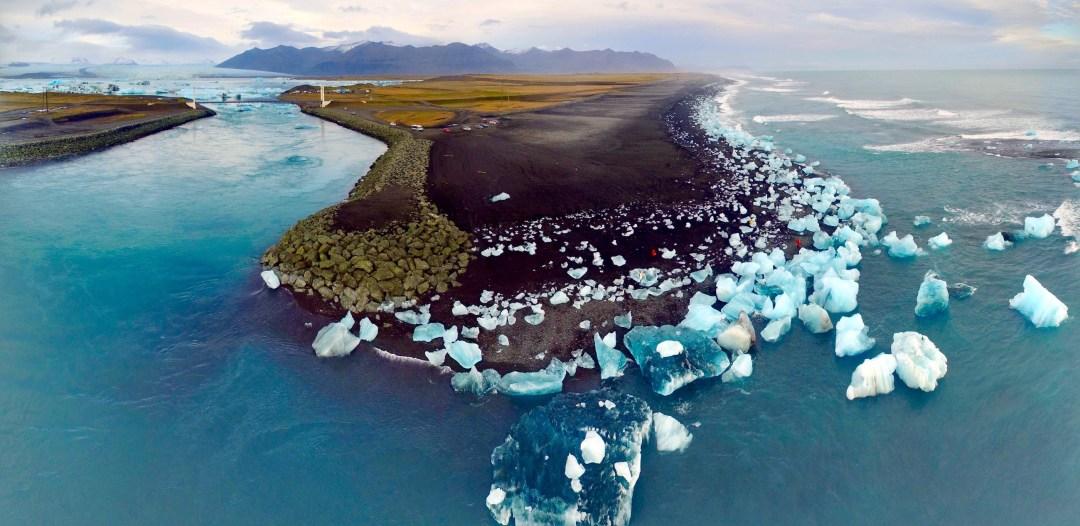 Jökulsárlón Glacier Lagoon, South Coast, Iceland   Volant Travel
