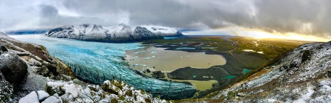 Svinafelljokull Glacier, Iceland | Volant Travel