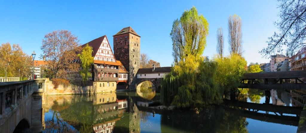 Nuremberg, Pegnitz River, Germany