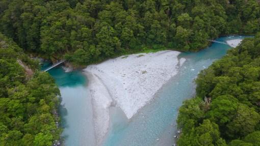 Blue Pools, Mt. Aspiring National Park, New Zealand | Volant Travel