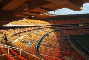 Rugby Stadium, Johannesberg, South Africa