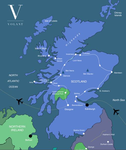 Scotland - Hiking & History | Volant Travel