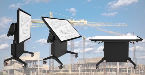 Volanti lift-tilt touch workstation