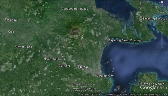 mayon-google-earth
