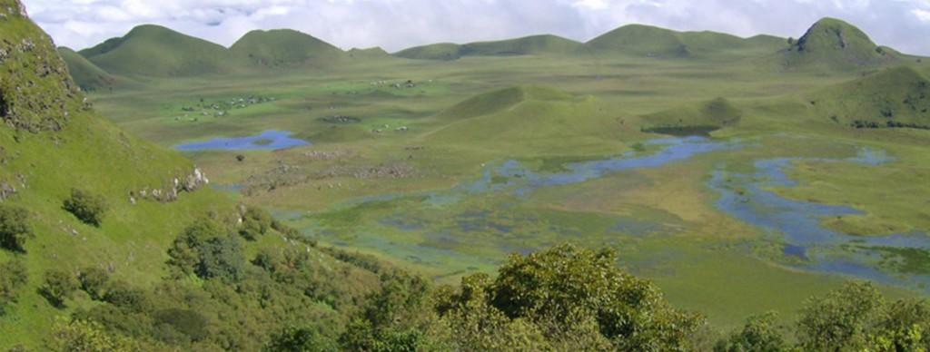 Mount Manengouba Caldera.