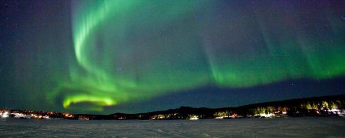 Aurora Borealis over Kiruna (Kragh & Berglund)