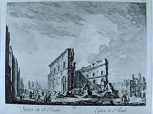 St Paul's church, Lisbon, after the 1755 earthquake. http://nisee.berkeley.edu/lisbon/