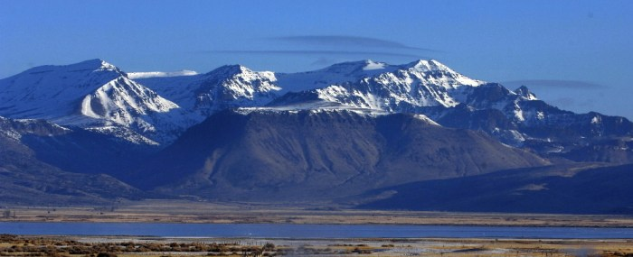Steens mountain, southeast Oregon, place of the first place of the Yellowstone hotspot.  Image from Oregonlive