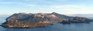 Vulcano, with Vulcanello in the foreground
