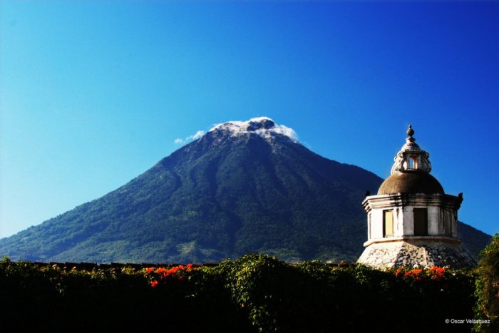 Agua, the bane of the second capital of the colonial Guatemala.