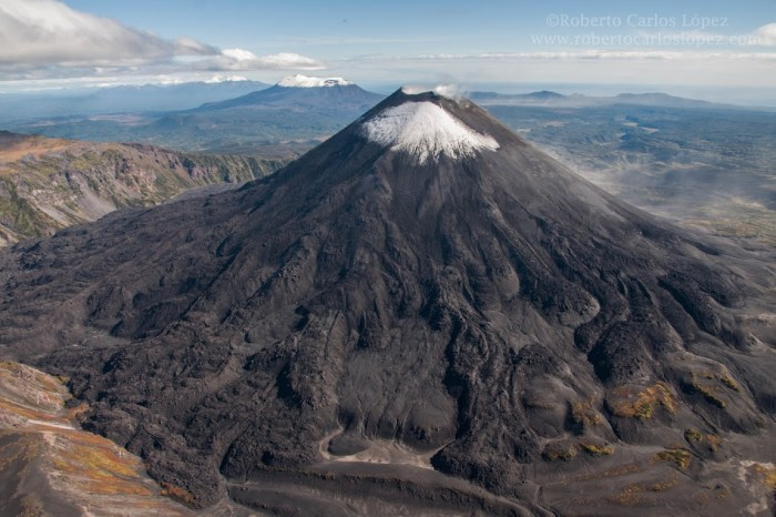 Karymsky, a majestic stratovolcano