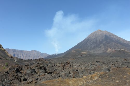 The baby peak of Pico do Fogo