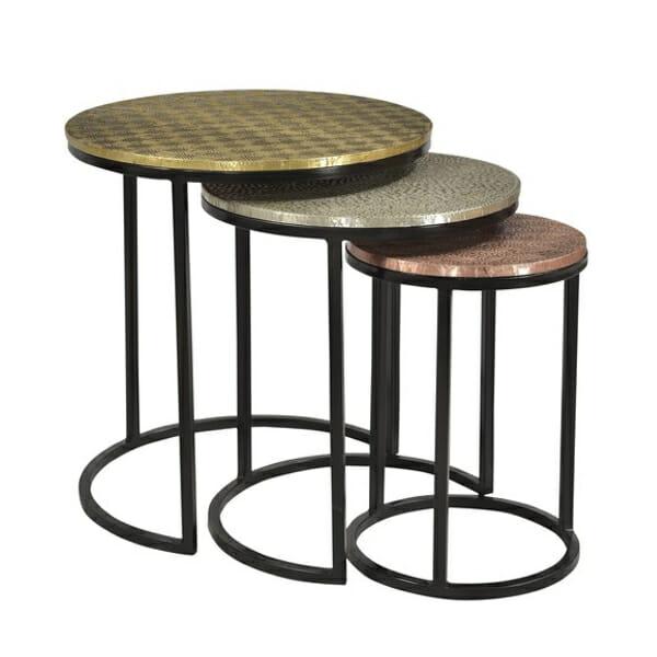 Apupöytä, 3 -pöydän setti