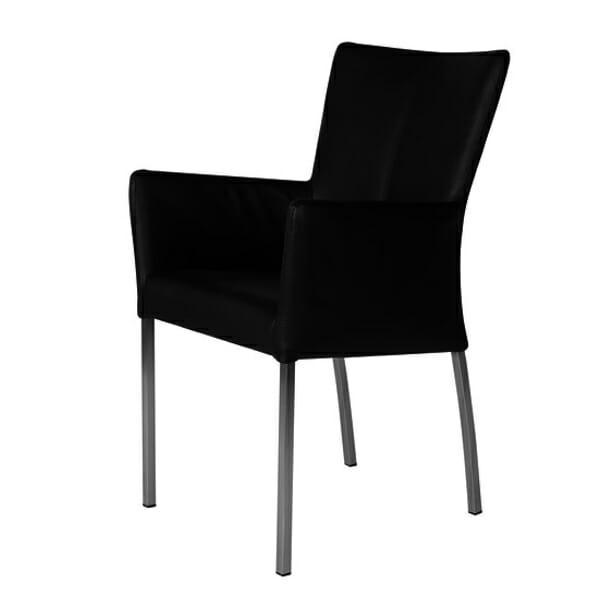 Tuoli käsinojilla Bonanza Black