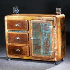 Fridge -sarjan 100 cm leveä laatikosto / lipasto