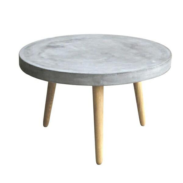 Cement sohvapöytä